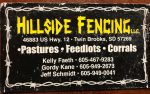 Hillside Fencing